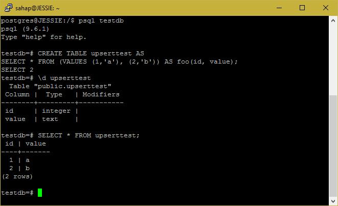 PostgreSQL – Insert on conflict(Upsert) - Database Tutorials