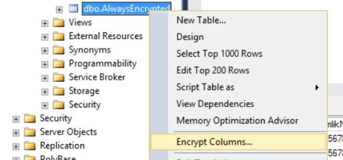 Always Encrypted Nedir ve Nasıl Kullanılır? - Veritabanı